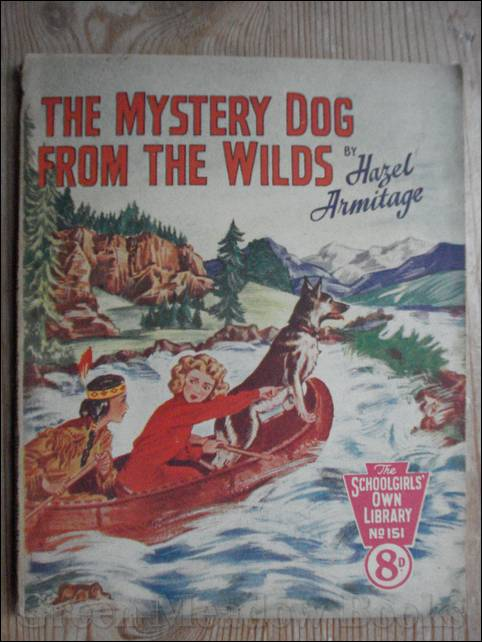 Image for SCHOOLGIRLS' OWN LIBRARY STORY PAPER: THE MYSTERY DOG FROM THE WILDS