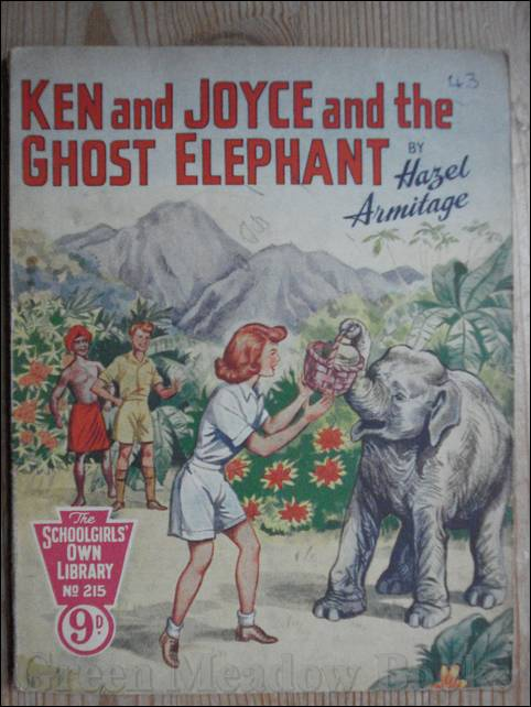 Image for SCHOOLGIRLS' OWN LIBRARY STORY PAPER: KEN AND JOYCE AND THE GHOST ELEPHANT