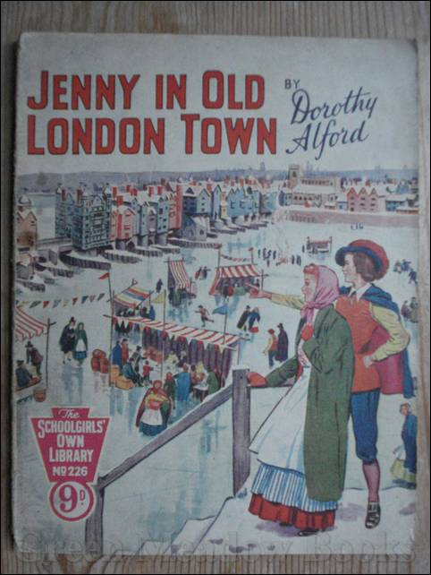 Image for SCHOOLGIRLS' OWN LIBRARY STORY PAPER: JENNY IN OLD LONDON TOWN