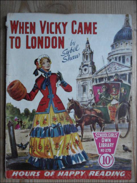 Image for SCHOOLGIRLS' OWN LIBRARY STORY PAPER: WHEN VICKY CAME TO LONDON