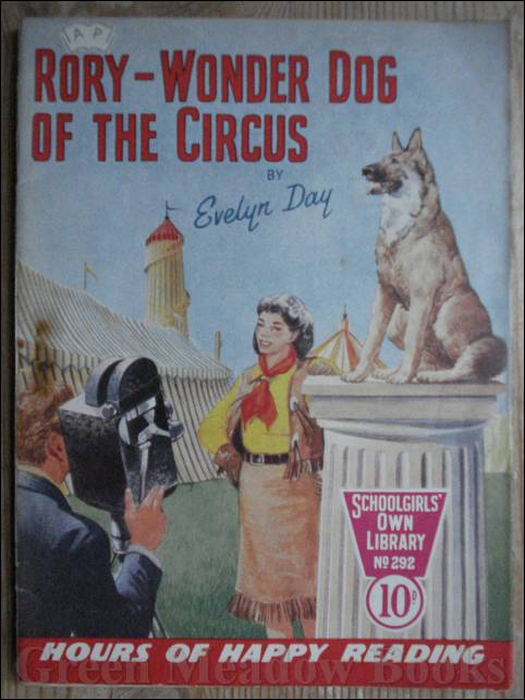 Image for SCHOOLGIRLS' OWN LIBRARY STORY PAPER: RORY - WONDER DOG OF THE CIRCUS