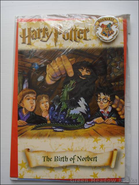 Image for HARRY POTTER GREETING CARD WITH BADGE