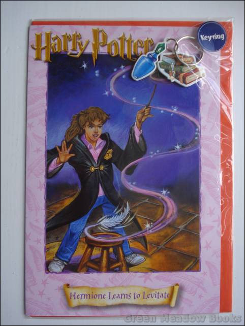 Image for HARRY POTTER GREETING CARD WITH NOVELTY   KEY RING