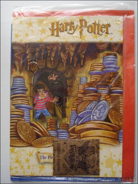 Image for HARRY POTTER GREETING CARD WITH NOVELTY  BIRTHDAY SURPRISE PACKET
