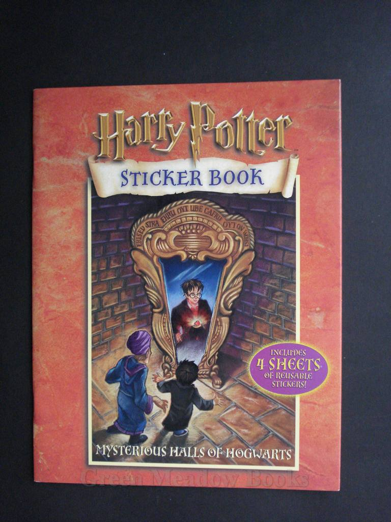 Image for HARRY POTTER MYSTERIOUS HALLS OF HOGWARTS STICKER BOOK