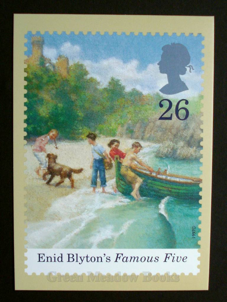 Image for POSTCARDS: STAMP CARD FAMOUS FIVE