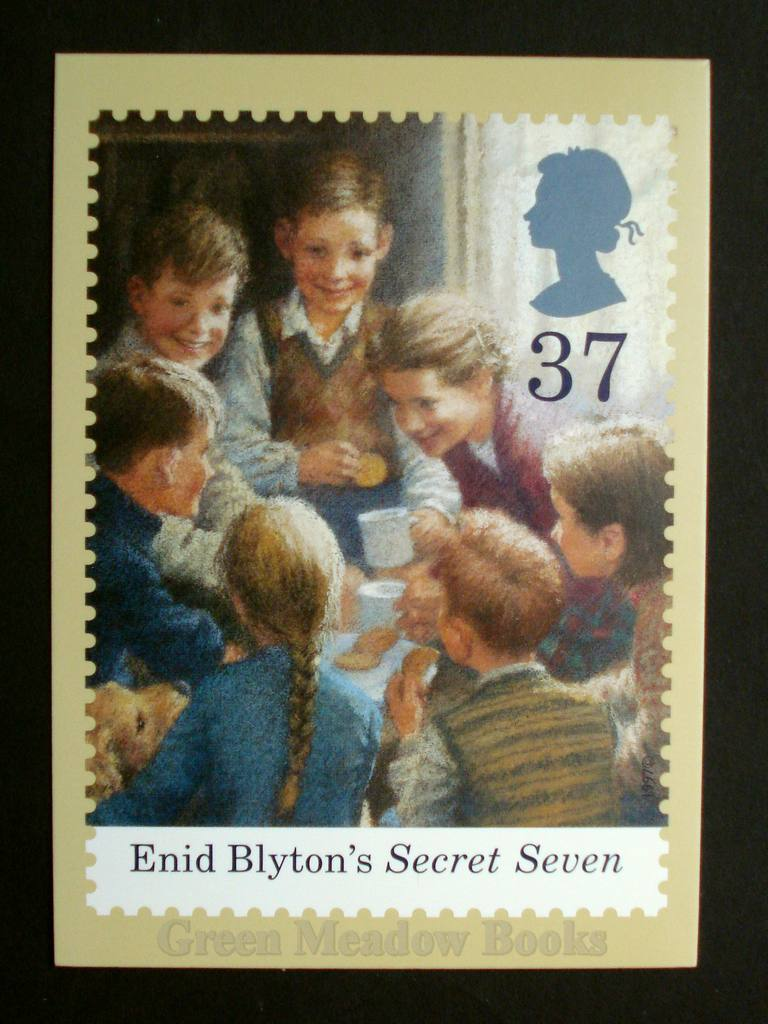 Image for POSTCARDS: STAMP CARD SECRET SEVEN