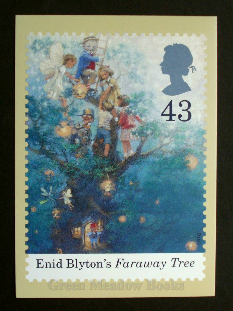 Image for POSTCARDS: STAMP CARD FARAWAY TREE