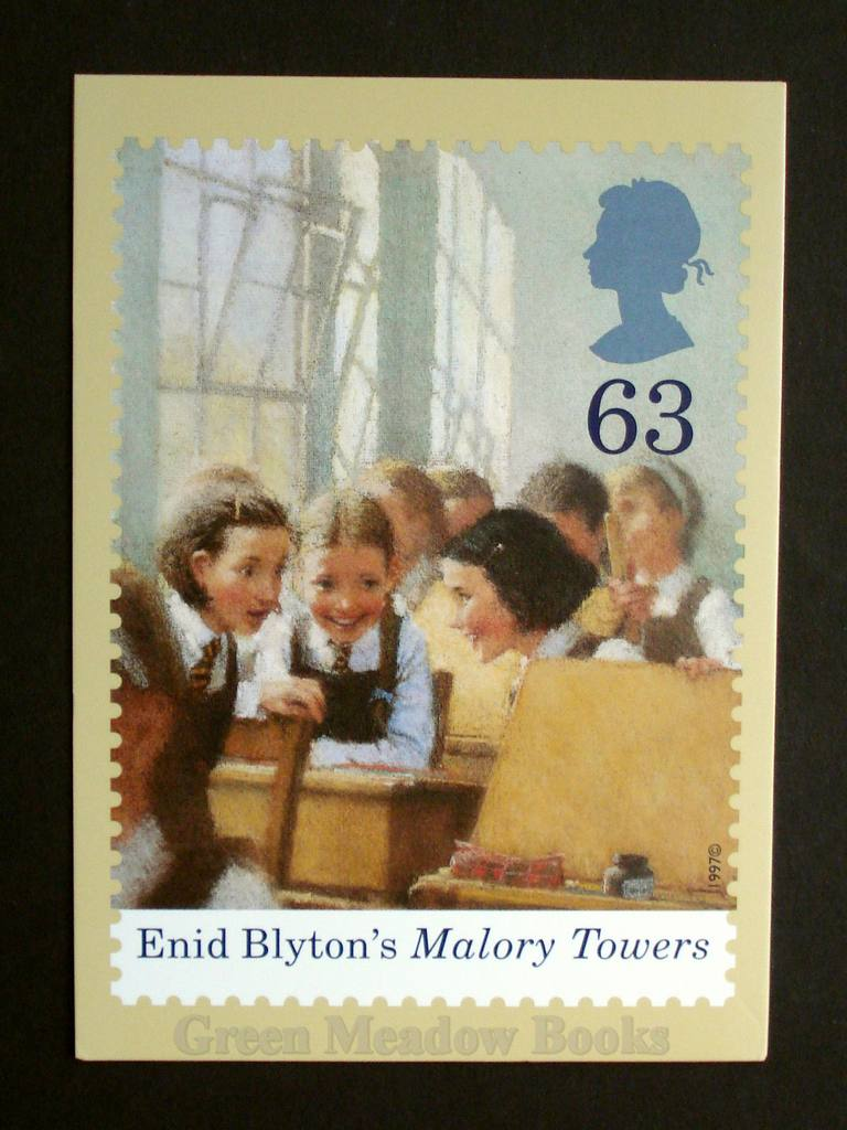 Image for POSTCARDS: STAMP CARD MALORY TOWERS