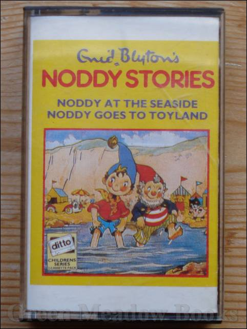 Image for AUDIO TAPE:  CASSETTE: ENID BLYTON'S NODDY STORIES:   NODDY GOES TO TOYLAND & .. AT THE SEASIDE  ( tape only has Toyland.)