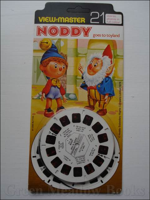 Image for VIEW-MASTER - NODDY GOES TO TOYLAND  TWENTY-ONE STEREO PHOTOS IN FULL COLOUR.