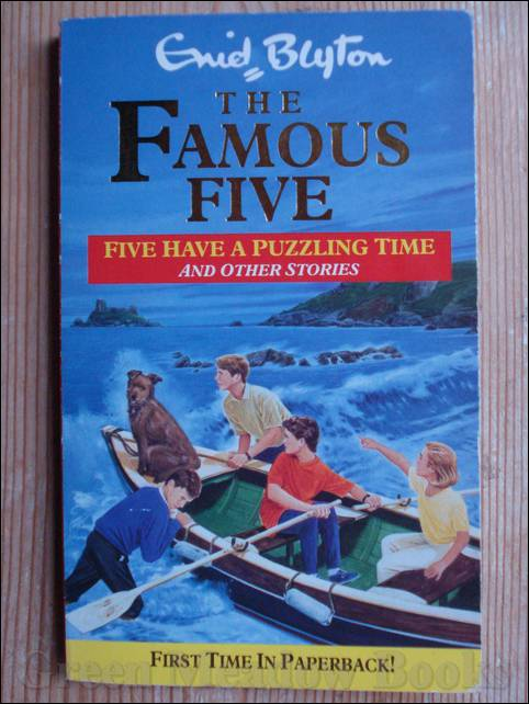 Image for FIVE HAVE A PUZZLING TIME AND OTHER STORIES