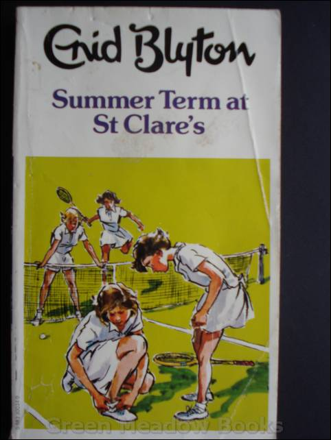 Image for SUMMER TERM AT ST CLARE'S