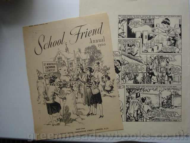 Image for SCHOOL FRIEND ANNUAL 1960   TWO FASCINATING PROOF PAGES!