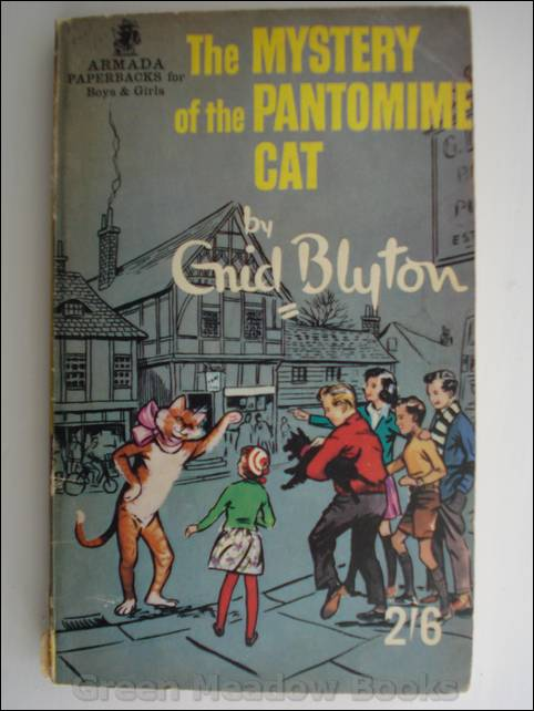 Image for THE MYSTERY OF THE PANTOMIME CAT