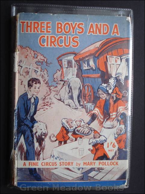 Image for THREE BOYS AND A CIRCUS   A FINE CIRCUS STORY