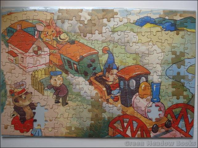 Image for NODDY JIGSAW: NODDY ON THE RUNAWAY TRAIN