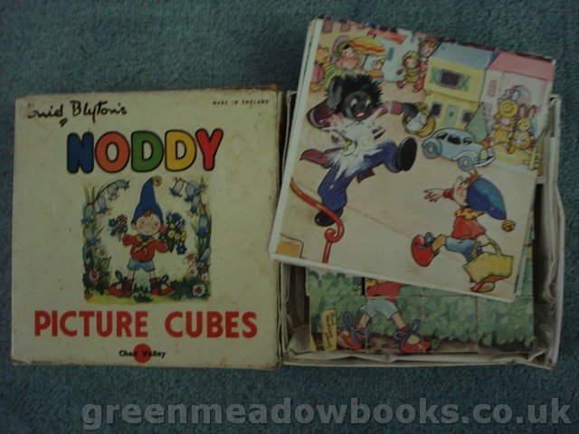 Image for ENID BLYTON'S NODDY PICTURE CUBES