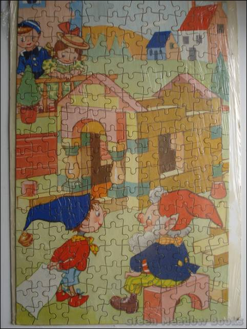 Image for NODDY JIGSAW: BUILDING NODDY'S HOUSE