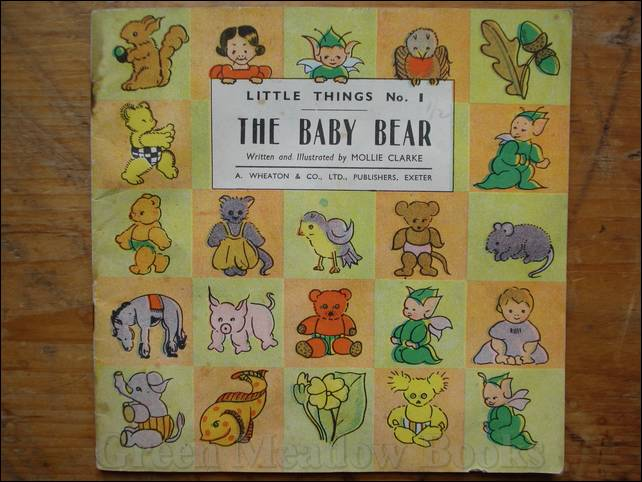 Image for THE BABY BEAR   LITTLE THINGS No. 1