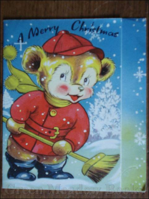 Image for CHRISTMAS CARD featuring TEDDY BEAR