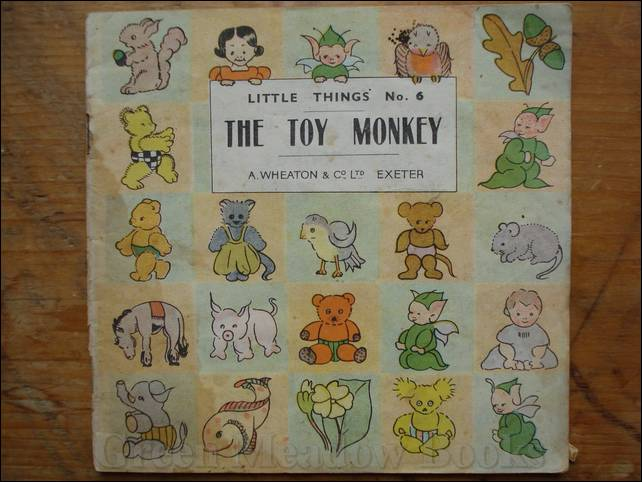 Image for THE TOY MONKEY   LITTLE THINGS No. 6