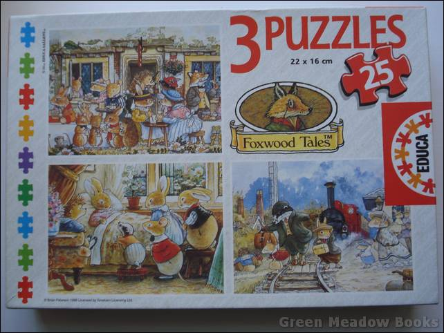 Image for FOXWOOD TALES, THREE JIGSAW PUZZLES