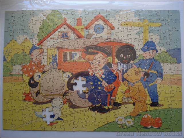 Image for BUMPY AND HIS BUS - BESTIME JIGSAW PUZZLE   Number 2 in Series