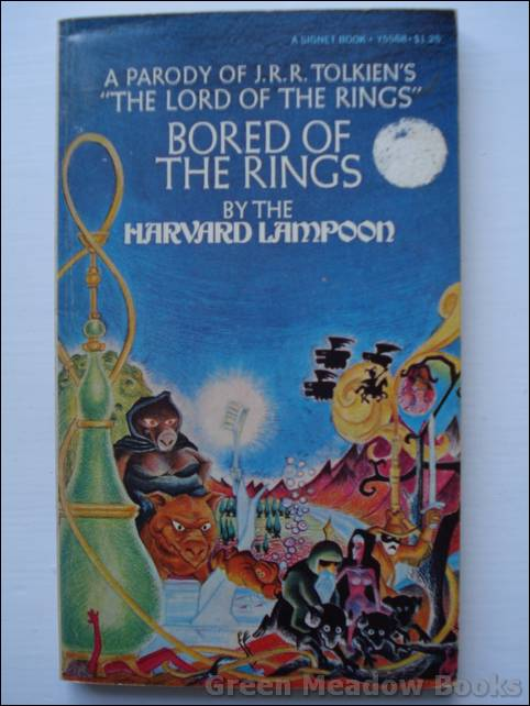 Image for BORED OF THE RINGS   A Parody of J.R.R. Tolkien's The Lord of the Rings