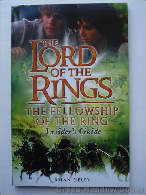 Image for THE LORD OF THE RINGS   THE FELLOWSHIP OF THE RING INSIDER'S GUIDE