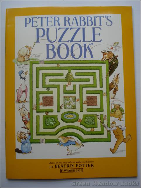 Image for PETER RABBIT'S PUZZLE BOOK