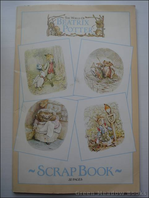 Image for THE WORLD OF BEATRIX POTTER SCRAP BOOK