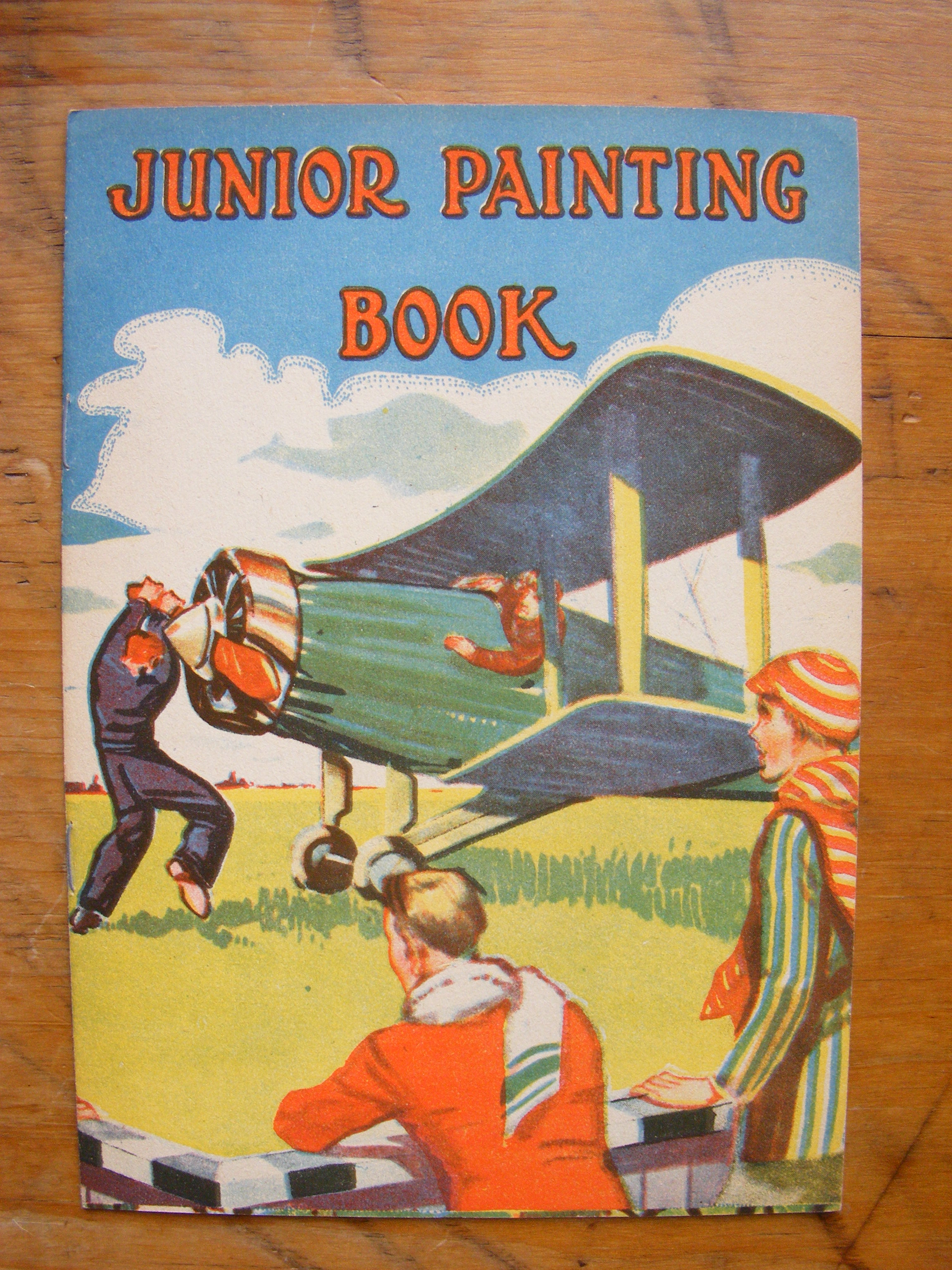 Image for JUNIOR PAINTING BOOK Number 72
