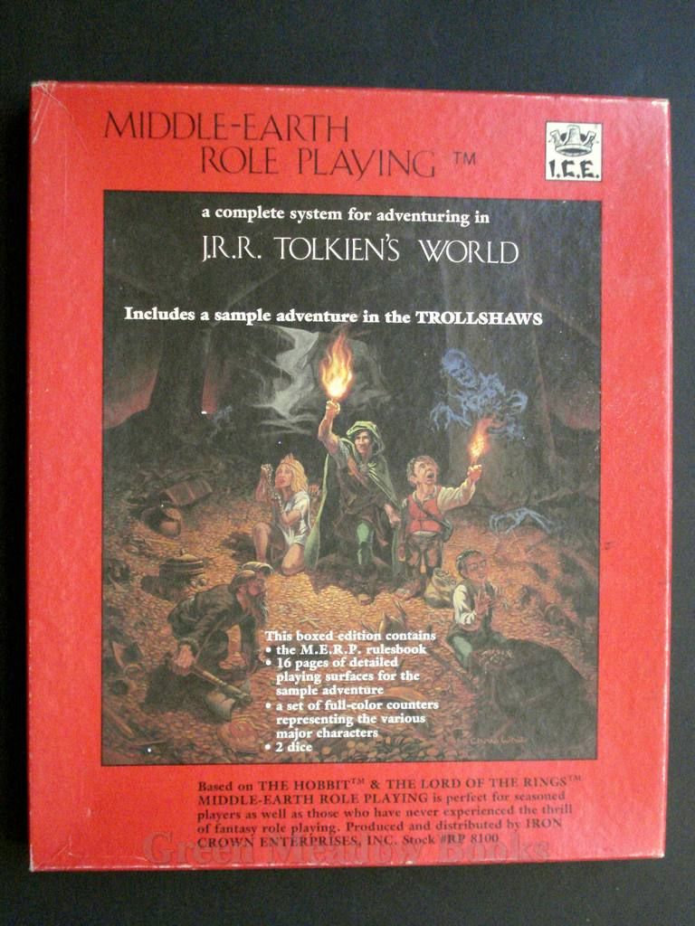 Image for J.R.R. TOLKIEN'S WORLD    A COMPLETE SYSTEM FOR ADVENTURING!