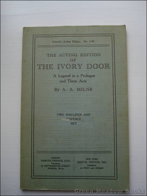 Image for THE ACTING EDITION OF THE IVORY DOOR