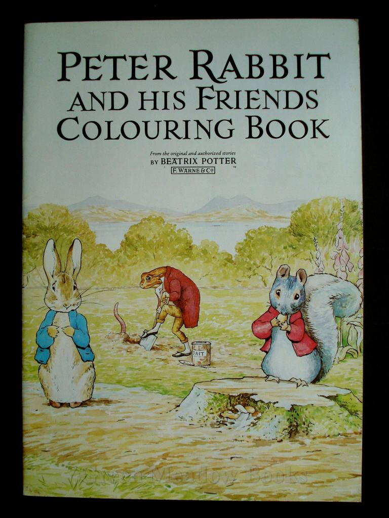 Image for PETER RABBIT AND HIS FRIENDS COLOURING BOOK