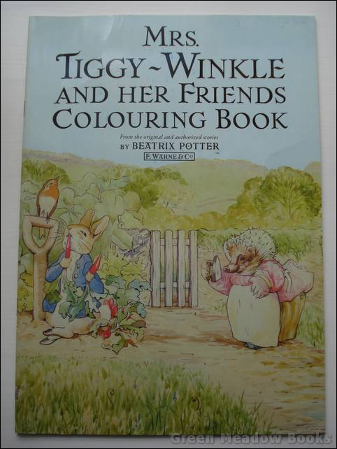 Image for MRS TIGGY-WINKLE AND HER FRIENDS COLOURING BOOK